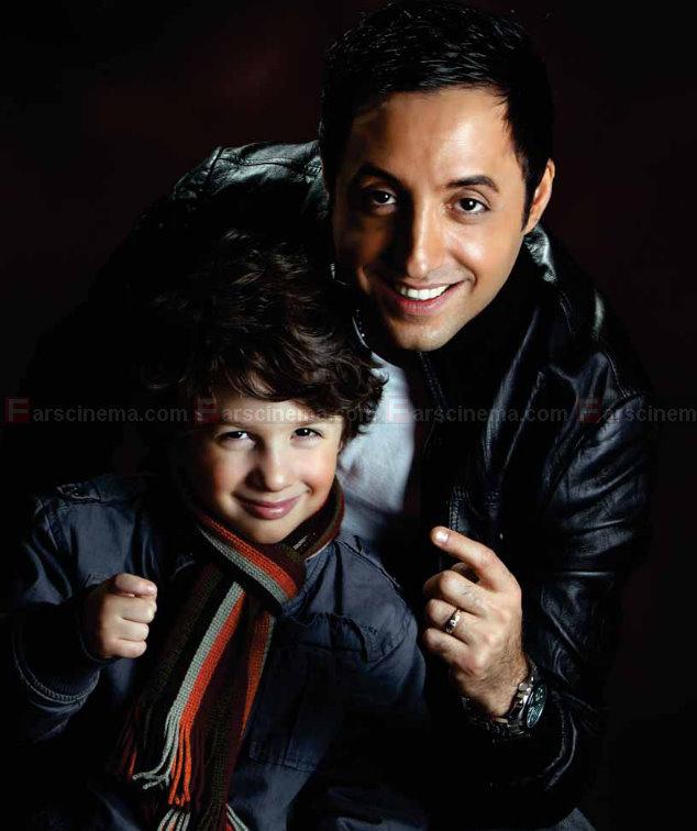 امير حسين رستمي و پسرش