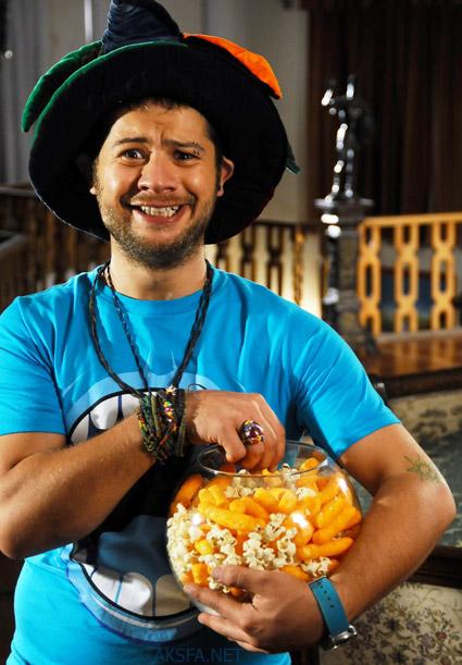 علی صادقی در فیلم پیتزا مخلوط