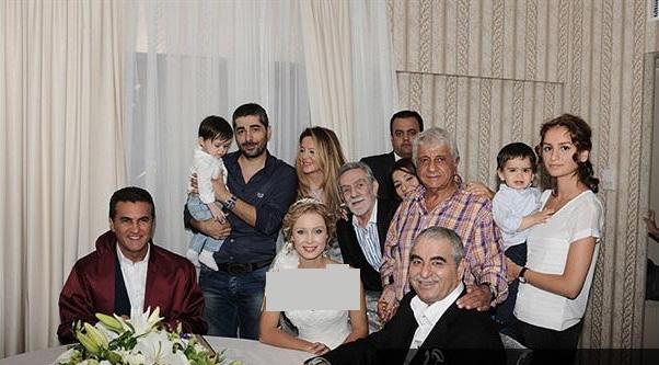 ازدواج ابراهیم تاتلیسس خواننده مشهور ترک