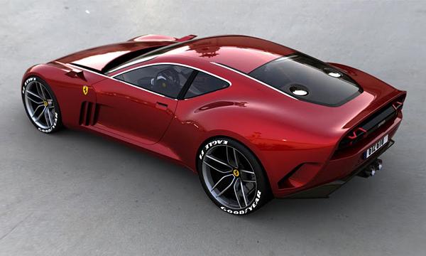 عکس فراری Ferrari 612 GTO Concept