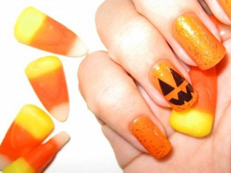 مدل ناخن با طرحای قشنگتر مخصوص هالووین