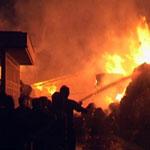 عکس آتشسوزی جنگای ایلام