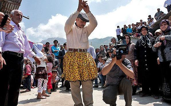 عکسهای جشن عروسی محلی مازندران